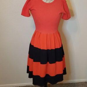 NWOT Lularoe Amelia dress XXS